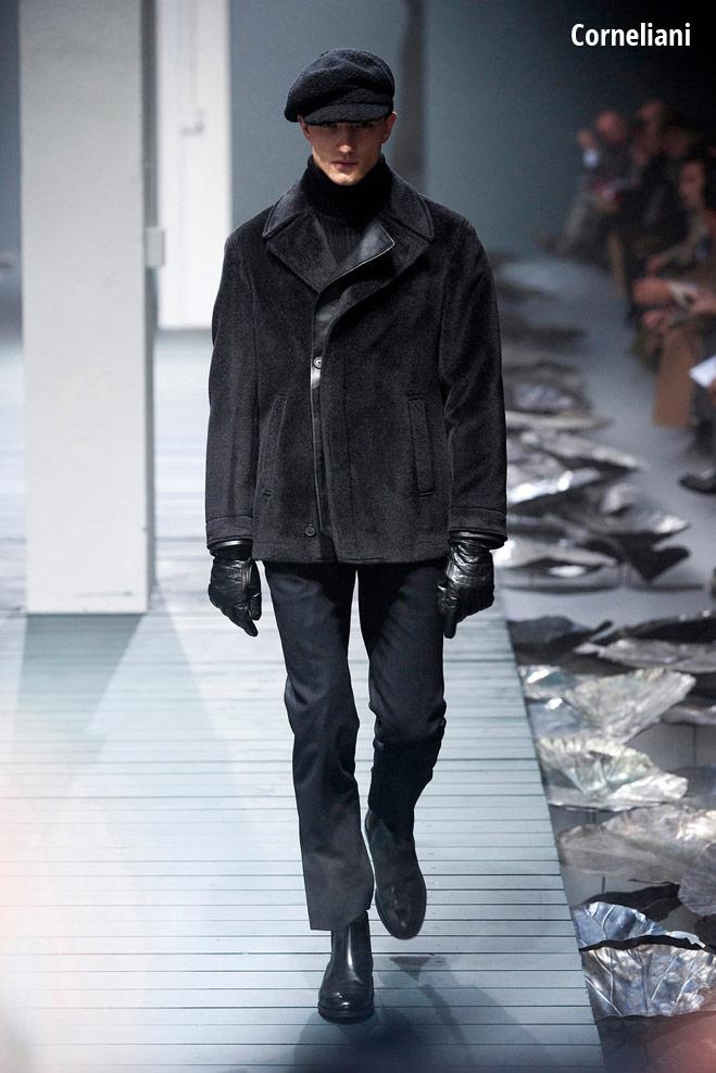 Меховая куртка Corneliani