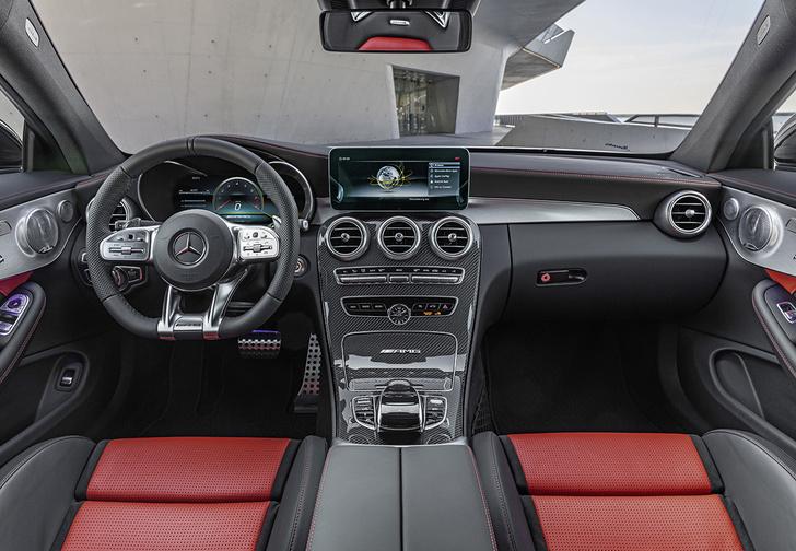 Фото №6 - Выход силы. Mercedes-AMG C 63 S