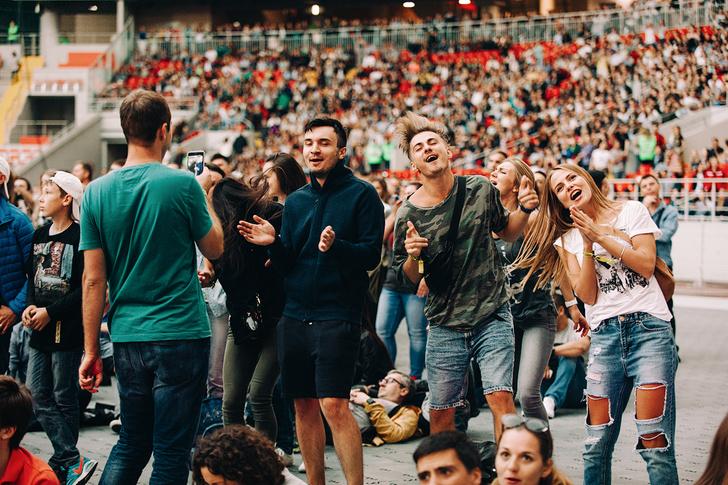 Фото №39 - Что творилось на недавних концертах Red Hot Chili Peppers, Ланы Дель Рей, «Сплина» и других рокеров