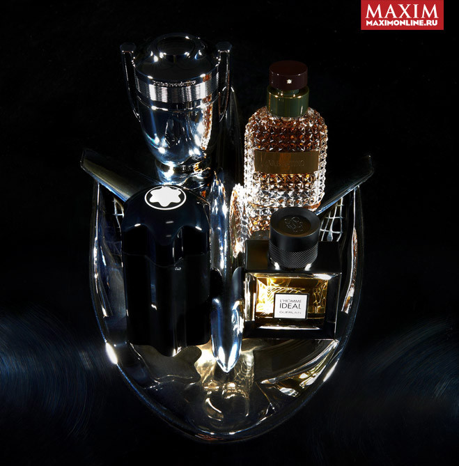 Paco Rabanne Invictus Silver Cup Valentino Uomo Montblanc Emblem Guerlain L'Homme Ideal
