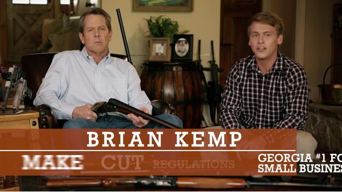 Кандидат в губернаторы США агитирует, угрожая ружьем поклоннику его дочери (ВИДЕО)
