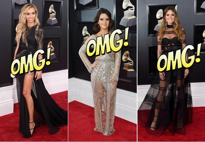 Лучшие «голые» платья и «вагино-платья» Grammy Awards 2018