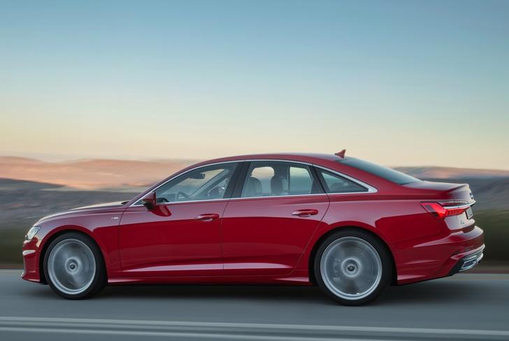 Фото №2 - Новый Audi A6 готов обходиться без водителя