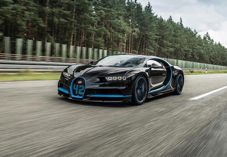 Фото №2 - Bugatti Chiron установил невероятный рекорд