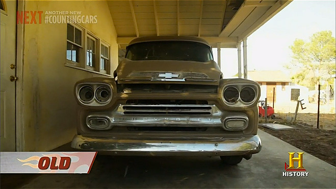 Chevy panel truck 59