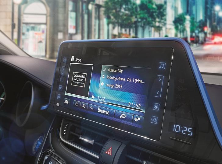 Фото №5 - Cool, Hot, Ride: все подробности о новом Toyota C-HR