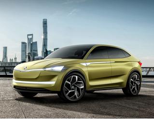 Концепт Skoda Vision E намекает китайцам, как надо делать машины