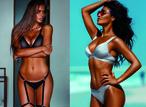 Вестник «100 самых сексуальных женщин страны»: Ирина Шейк, вид сзади