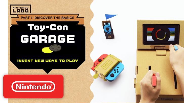 Фото №1 - Как выглядит Nintendo Labo: картонный конструктор примочек для Switch (ВИДЕО)