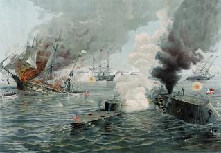 Бодалась шляпа с сараем: история первого в мире морского боя между броненосцами
