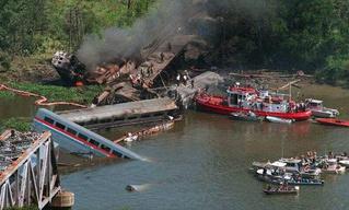26 лет крупнейшей железнодорожной катастрофе