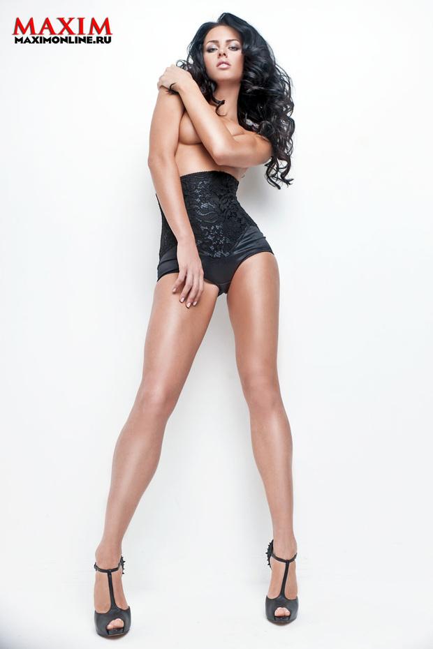 Модель и певица Катя Баженова