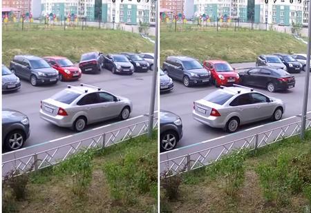 Худшая в истории парковка! ВИДЕО, от которого содрогнется любой автомобилист