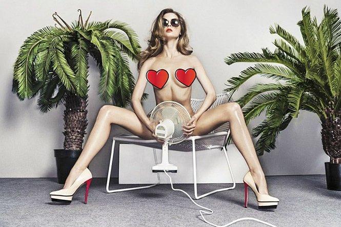 Фото №4 - Героини челленджа «Покажи грудь в ресторане», Хайди Клум, Кендалл Дженнер и другие самые соблазнительные девушки недели