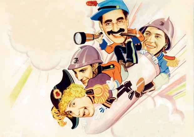 Фото №1 - Марксы атакуют! История величайших гениев комедии