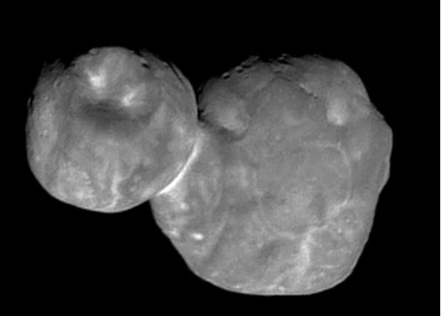 Фото №1 - Новейшая фотография самого далекого объекта Солнечной системы, к которому удалось подлететь