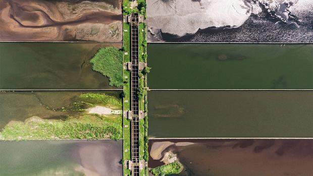 Фото №1 - Они узорят наш район: 9 выразительных фото, сделанных с большой высоты