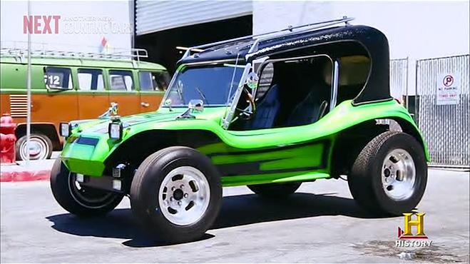 street-legal 1970s Meyers Manx dune buggy