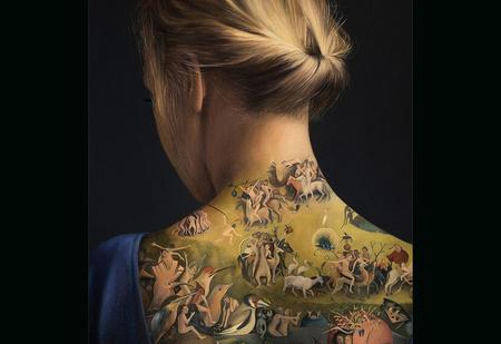 Необычайная татуировка оказалась совсем не тем, что тебе показалось!