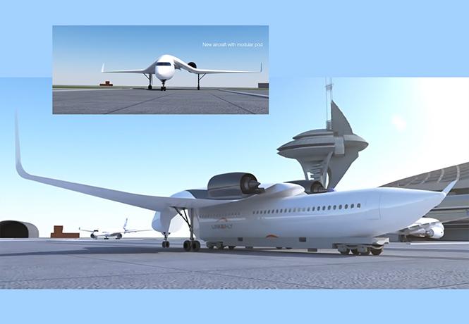 Фото №1 - Гляди! Летающий поезд со съемными крыльями!