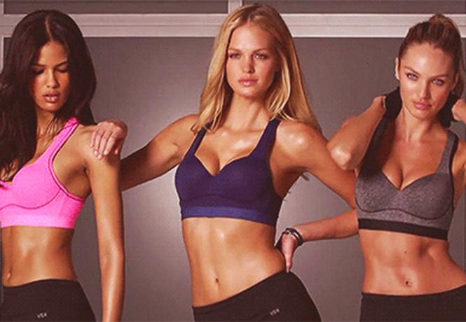 пятничная подборка гифок знойных спортивных девушек