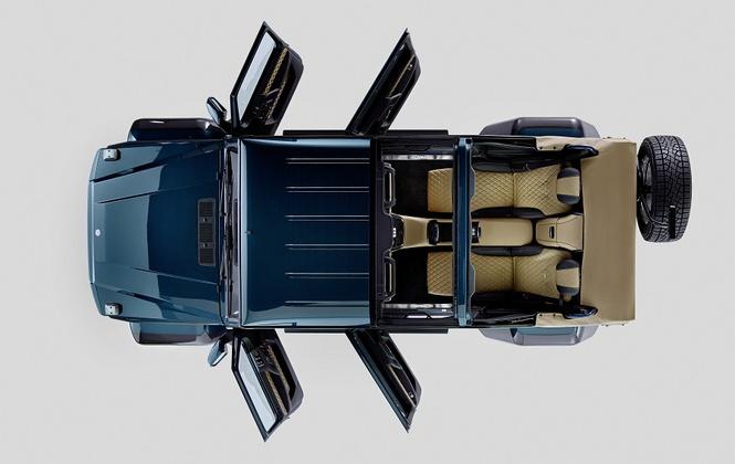 Особо лимитированный: роскошный вседорожник Maybach с открытым верхом