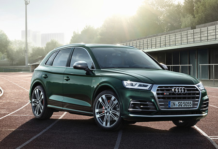 Будь помедленнее: 354-сильный Audi SQ5