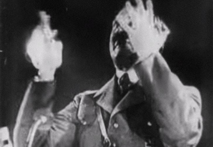 Фото №1 - Древний ролик про Гитлера назван первой кинопародией