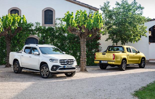 Фото №6 - Приехали: Mercedes-Benz представил пикап
