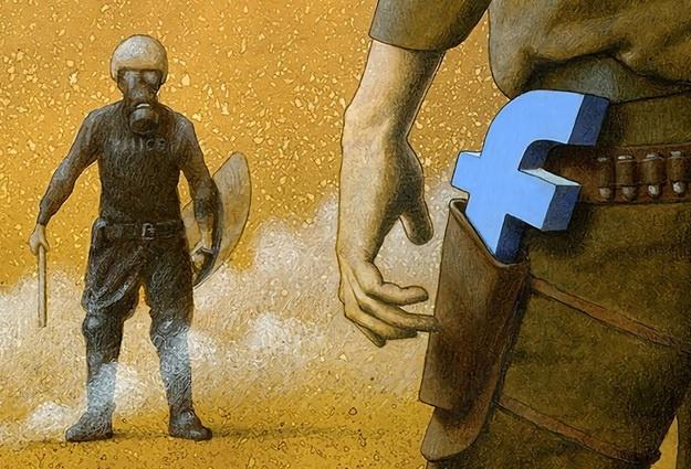 Вся правда о «Фейсбуке» от карикатуриста Павла Кучински