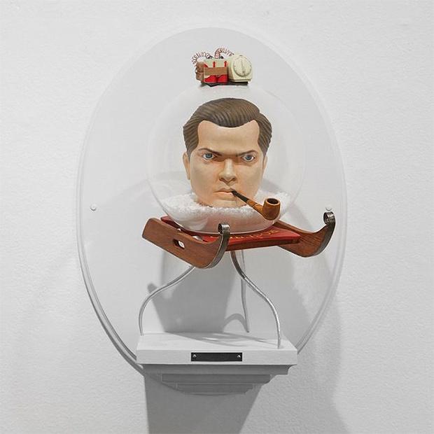 Фото №6 - Скульптор создает диковатые статуэтки знаменитых кинорежиссёров
