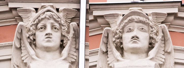Фото №9 - Пушистый Иисус, Губка Боб, перекошенная нимфа и еще 10 примеров неудачной реставрации