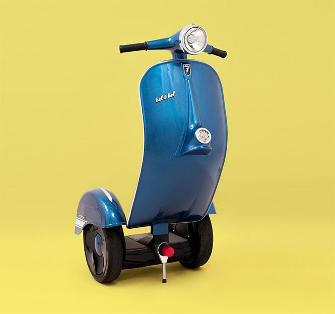 Стоячий скутер Zero Scooter