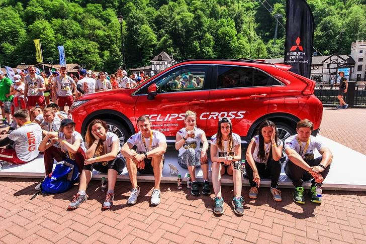 Фото №2 - Mitsubishi снова поддержит праздник бега ROSA RUN