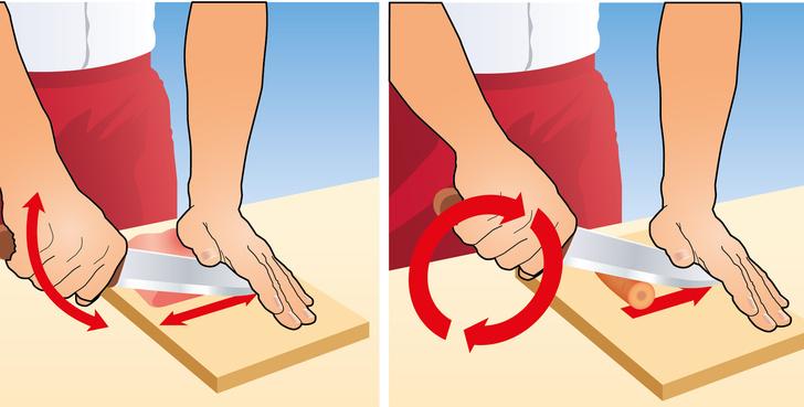 Фото №2 - Как быстро резать овощи
