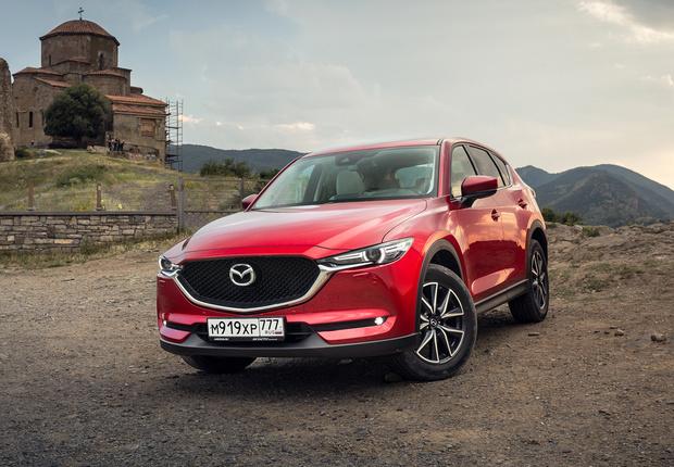 Фото №1 - Кое-что о новом поколении Mazda CX-5