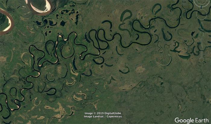 Фото №16 - 20 необычных мест, найденных на Google Earth