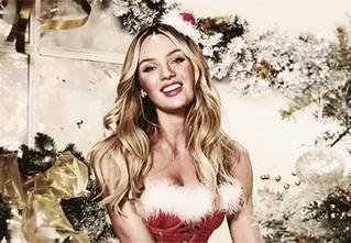 Новогодняя подборка гифок сексуальных внучек Деда Мороза