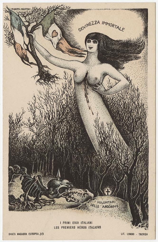 Фото №29 - Жутковатые карикатуры Первой мировой