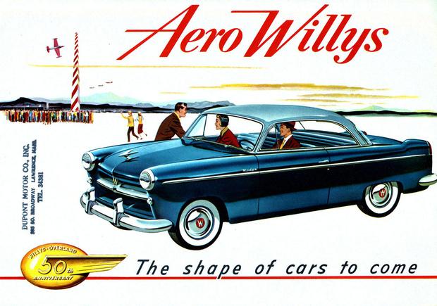 Willys Aero тоже здорово машет на Ford Mainline...