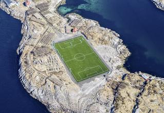 Мы нашли самое одинокое футбольное поле в мире!