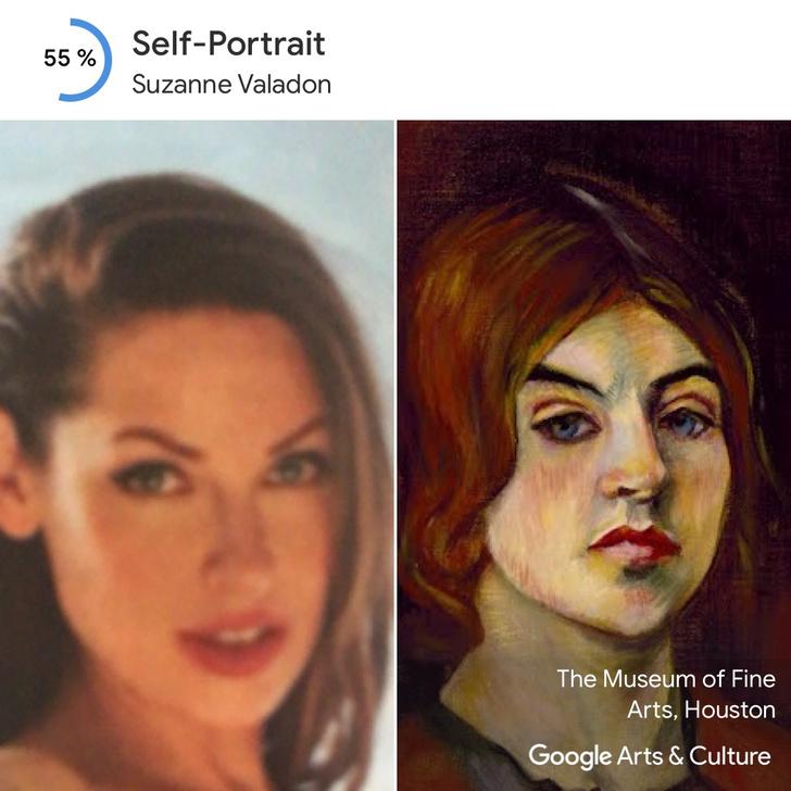 Фото №2 - Встречай приложение, которое находит максимально похожие на тебя портреты из музеев