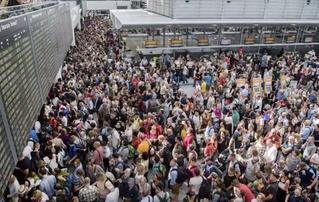Женщина прошла без досмотра в зону вылета и заблокировала работу аэропорта на 10 часов