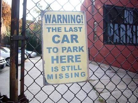 Фото №2 - 10 знаков, запрещающих парковку