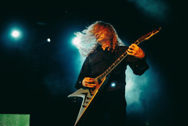 Фото №7 - Megadeth подняли температуру в Москве — посмотри и приобщись!