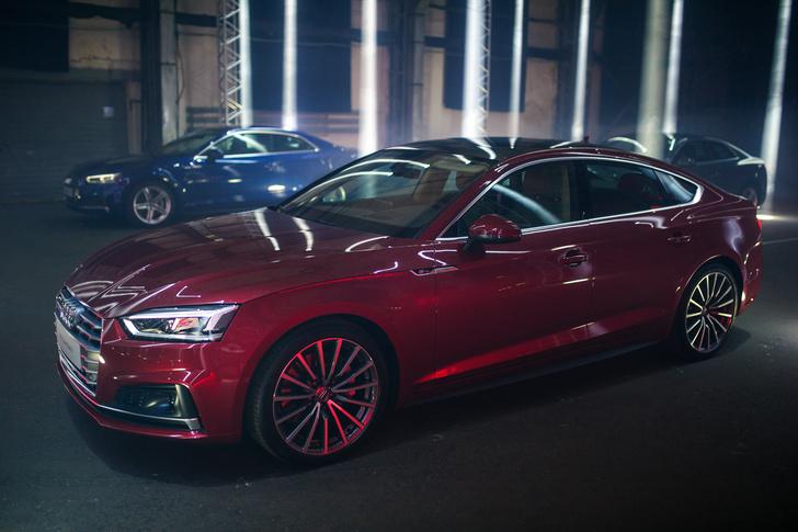 Фото №1 - Новые Audi A5 и S5 Coupé — уже тут!