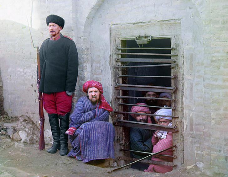 Тюрьма вСредней Азии, 1904год