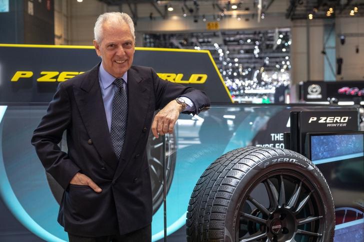 Фото №1 - Pirelli представила в Женеве продолжение флагманской линейки P Zero