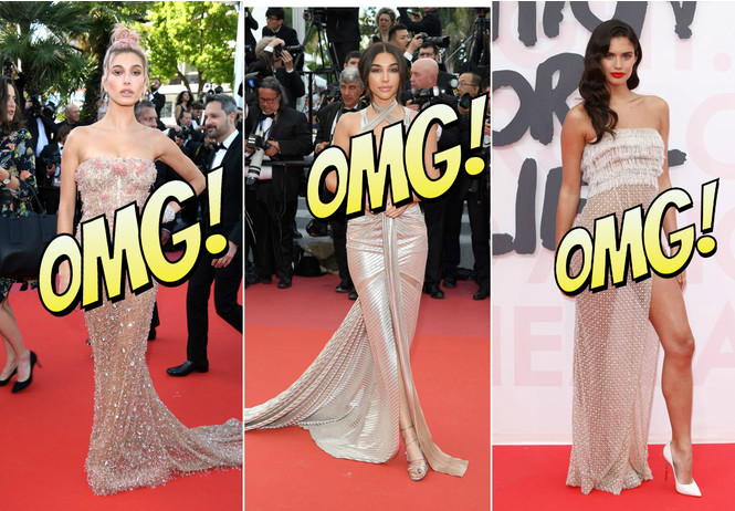 Лучшие «голые» платья и вагино-платья Каннского кинофестиваля