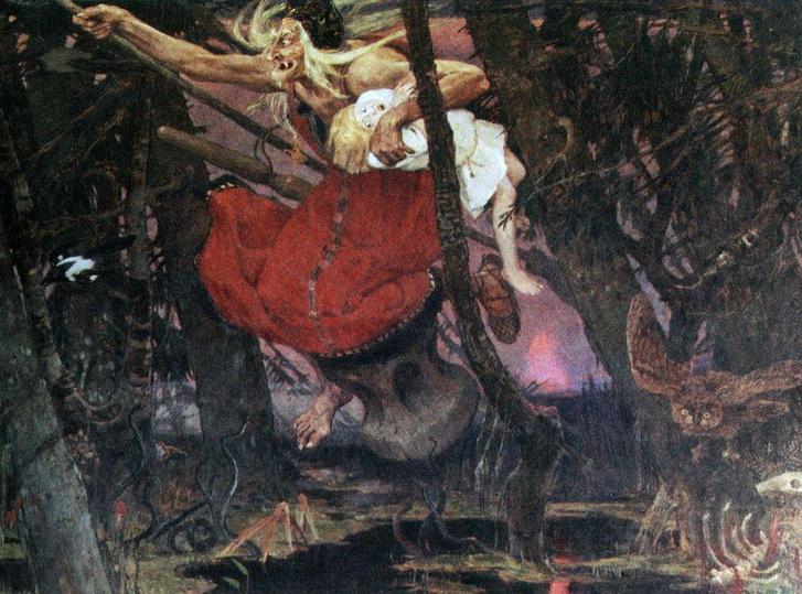 Фото №1 - Избушка на курьих ножках — это гроб, и еще 4 неожиданности русских народных сказок